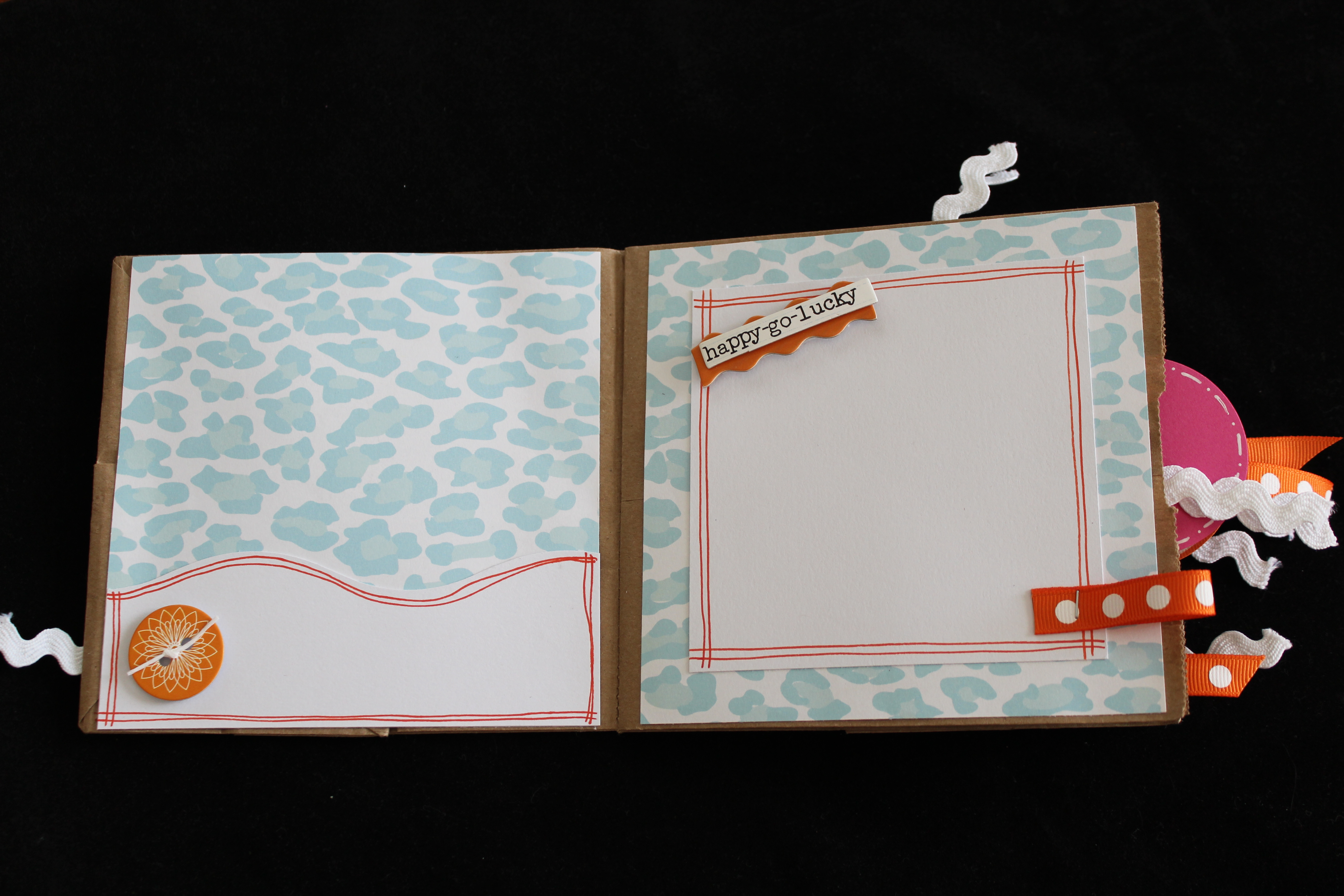 How to make scrapbook with construction paper - Credit Https Scrappybags Files Wordpress Com 2012 05 Img_3175 Jpg